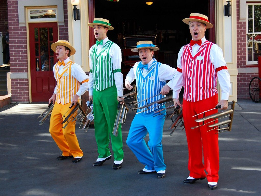 The Dapper Dans, Disney World