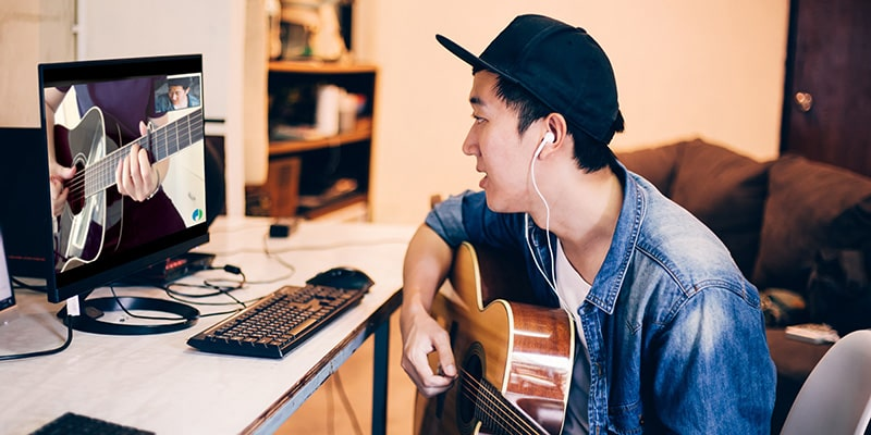 online musikundervisning